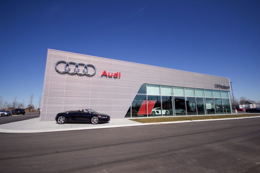 Audi Dealership Building