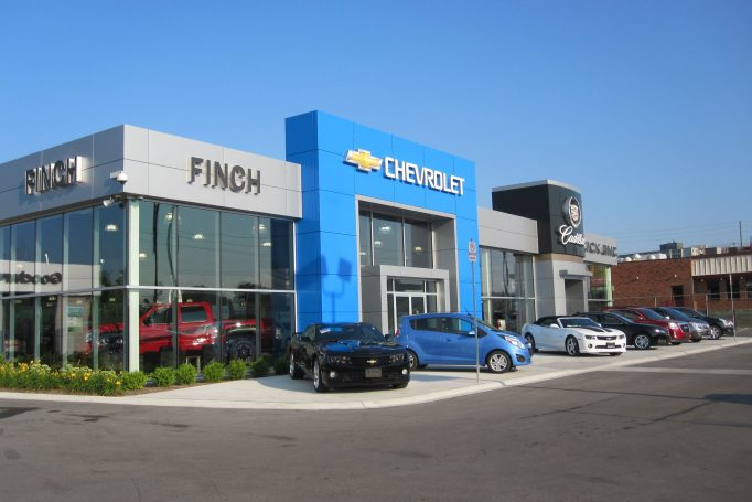 Finch Chevrolet Dealership in London