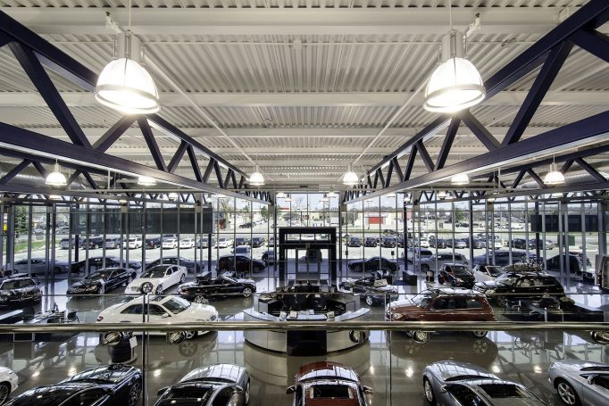 Mercedes-Benz Interior Building